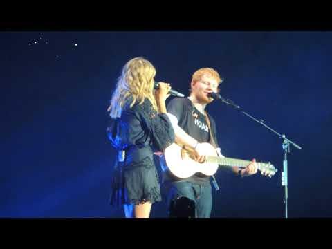 Ed Sheeran  Divide World Tour  Perfect feat Louane  @ Stade De France 07072018 HQ