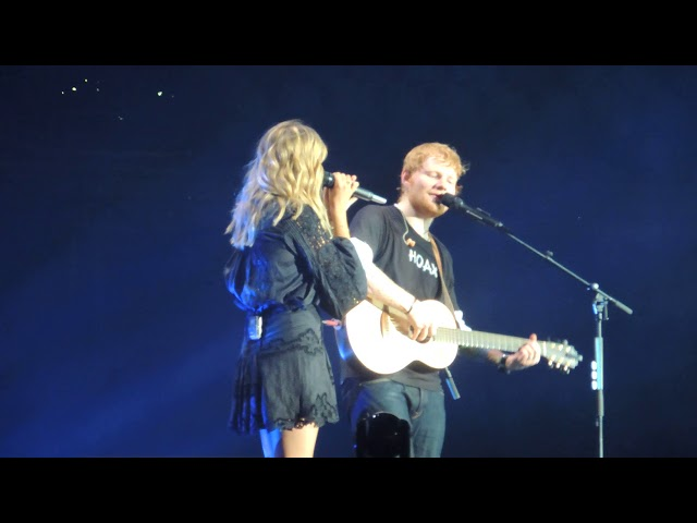 Ed Sheeran - Divide World Tour - Perfect feat Louane (live) @ Stade De France (07/07/2018) HQ