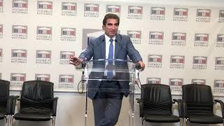 Conférence de presse de Christian Jacob - Immigration