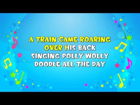 Polly Wolly Doodle All the Day | Sing A Long | Nursery Rhyme | KiddieOK
