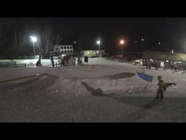 Winter Rail Jam Series #2 - Jan. 26, 2013 at Ski Ward