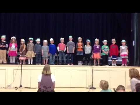 """Hope for the Flowers "" performed by the kindergarten class at the Pennfield School"
