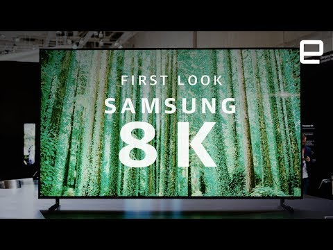 Samsung Q900R 8K QLED TV First Look at IFA 2018