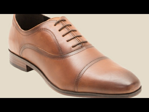 Red Tape Leather Formals Shoes(Tan