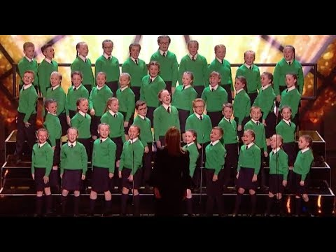 St  Patrick's Junior Choir with Katy Perry Hit Roar | Semi Final 1 | Britain's Got Talent 2017