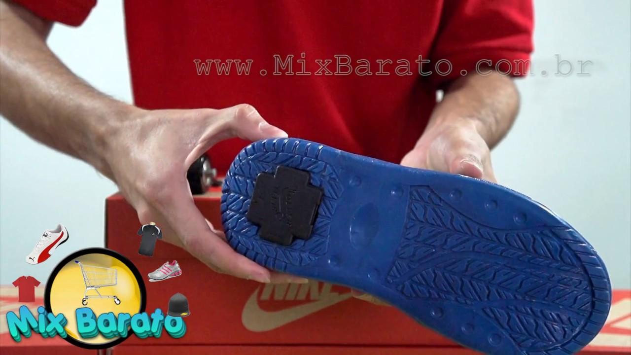 8632fee1c6337 Mix Barato - Tênis Nike Infantil de Rodinhas - YouTube