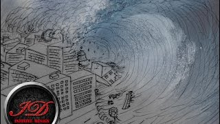 How to Draw a Tsunami - Giant Wave