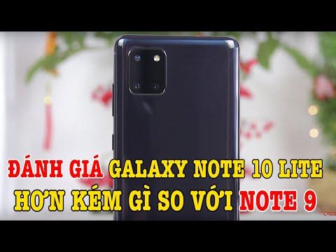 Đánh giá Galaxy Note 10 Lite sau 48 giờ sử dụng: Hơn kém Note 9 những gì?
