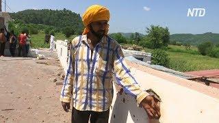 Пакистан два часа обстреливал городок в индийском Кашмире