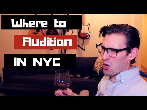 Aspiring Actor's Guide: Where to Audition in NYC