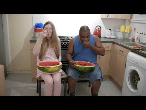 EATING WATER MELON, ORGANIC  HEALTH  PT 2A    13.7.2014