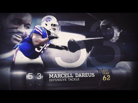 #53 Marcell Dareus (DT, Bills) | Top 100 Players of 2015