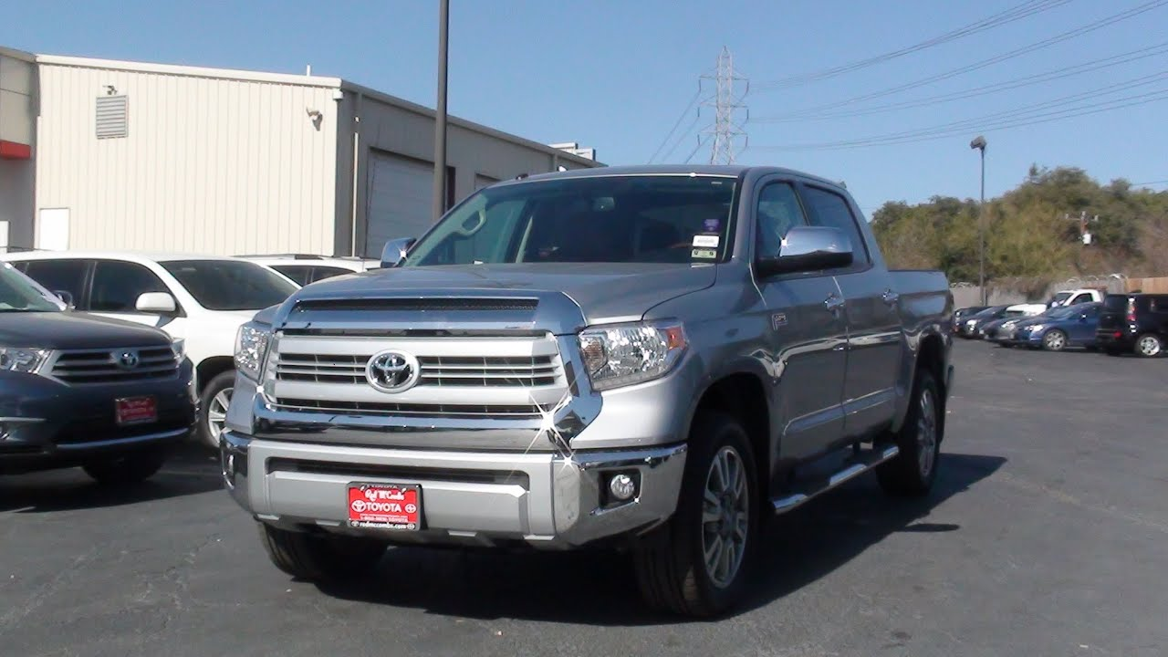 2014 Toyota Tundra 1794 Edition 4x4 Crewmax Review 2015 Version