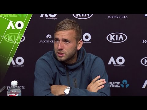 Dan Evans press conference (3R) | Australian Open 2017
