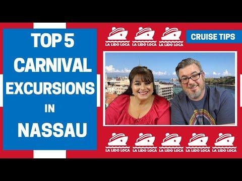 Top 5 Carnival Excursions Nassau, Bahamas