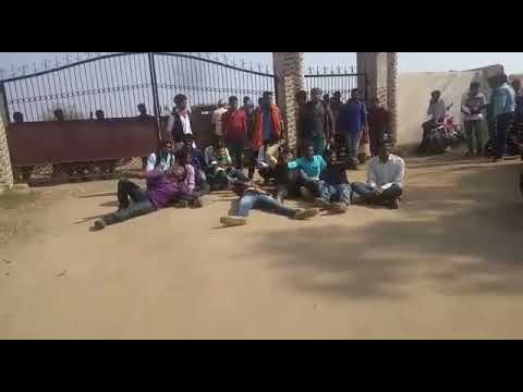 Bokaro steel city college me students ne bijli pani ke liye kiya hungama|| from wings red wrp