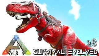 ARK: SURVIVAL EVOLVED: NEW ALPHA TREX & BOSS ARENAS E28 !!! ( ARK EXTINCTION CORE MODDED )