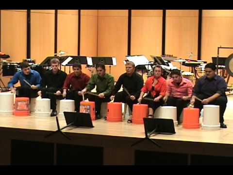 Fort Lewis College Percussion Ensemble performs St...