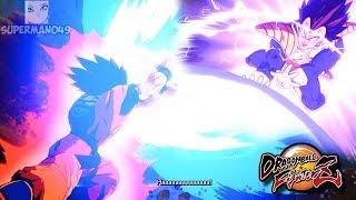"THE BEST DRAMATIC FINISH! & SPIRIT BOMB VS FRIEZA - Dragon Ball FighterZ ""Base Goku"" Dramatic Finish"