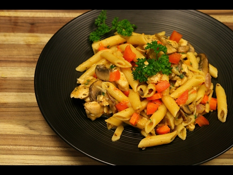 Chicken Pasta Primavera - Healthy Recipe Channel