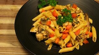 Chicken Pasta Primavera - easy pasta recipes - chicken recipes - italian cooking -how to make pasta