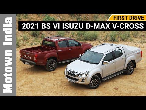 2021 BS VI Isuzu D-Max V-Cross | First Drive | Motown India