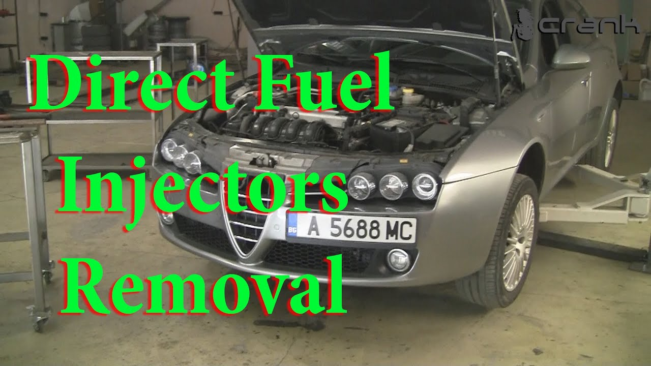 hight resolution of direct fuel injectors removal alfa romeo 159