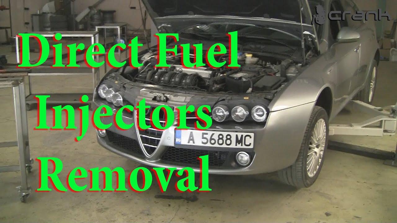 Direct Fuel Injectors Removal Alfa Romeo 159 - YouTube