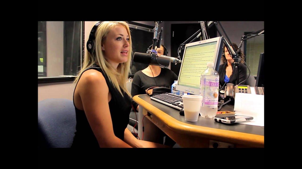 WWE Tough Enough Star Dianna Dahlgren in studio - YouTube