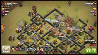 Clash of Clans war footage (Veni Vidi Vici)