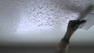 How To Do a Perfect Knock Down Ceiling Texture