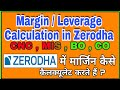 Margin Available and Margin Used in Zerodha Trading