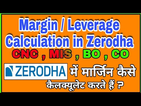 Zerodha margin for option trading