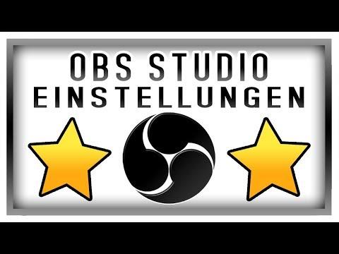OBS Studio Tutorial German Einstellungen für schlechte PCs - Open Broadcaster Software Tutorial