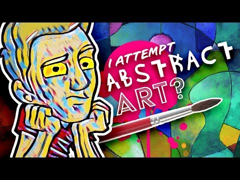 I TRY ABSTRACT ART! - Dumb, or Deep? You Tell Me...