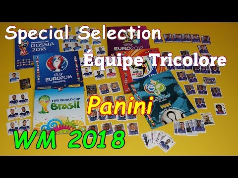Panini Sticker Album FIFA World Cup Russia 2018 Equipe Tricolore Team France