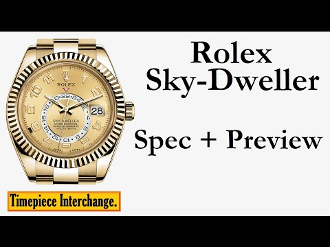 Rolex Watch: The Sky-Dweller Rolex Watch Specifications and Preview