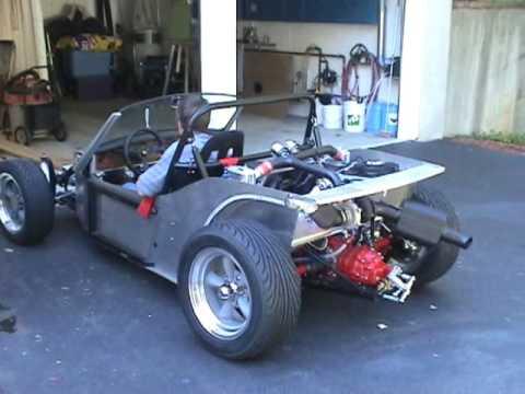 Mike Ragonese Deserter GS 270hp Mid-Engine Street Buggy before body installed.