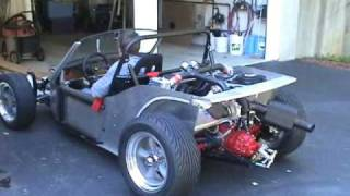 Mike Ragonese Deserter GS 270hp Mid-Engine Street Buggy before body installed.