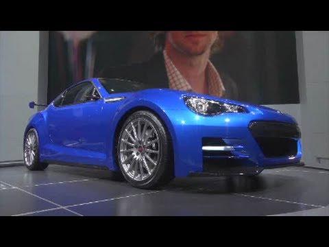 2013 Subaru Brz Sti Concept Debut La Auto Show 2011 Youtube