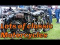 Lots Of Classic Motorcycles