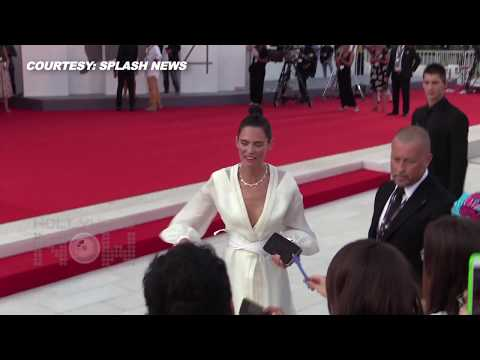Bianca Balti Stuns In All White At 2017 Venice Film Festival 'Downsizing' Premiere
