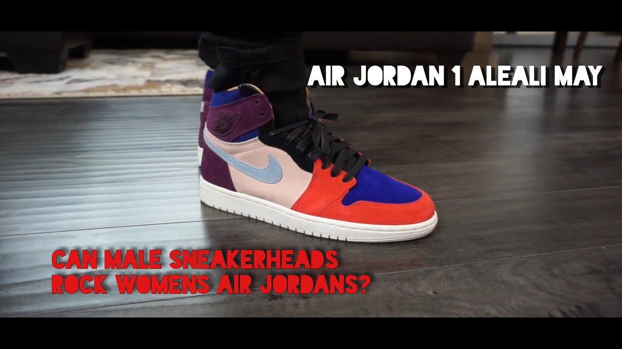 best sneakers f1c12 5a74e HOW TO STYLE ON FEET LOOK AT THE AIR JORDAN 1 ALEALI MAY