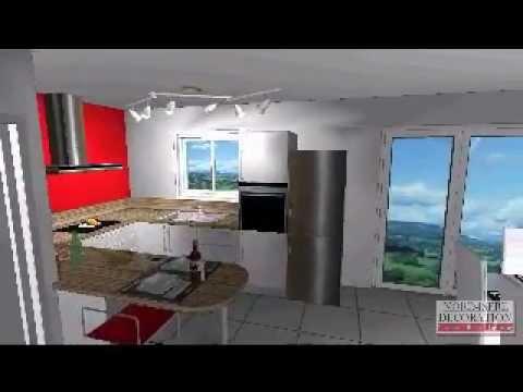 cuisine design maisons natilia type natilys 100 youtube. Black Bedroom Furniture Sets. Home Design Ideas