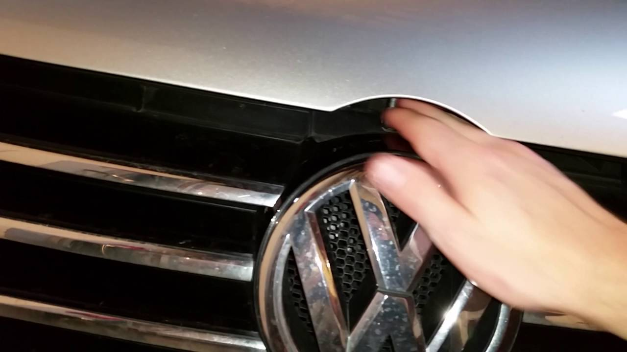 2012 2015 Volkswagen Passat Tsi How To Open Hood
