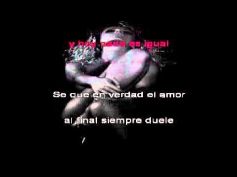 karaoke♥♥ como yo nadie te ha amado ♥♥bon jovi