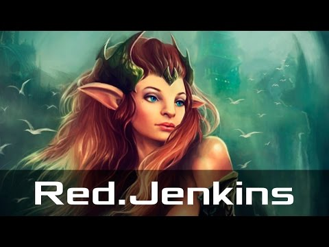 Red.Jenkins - Enchantress, Off Lane (Apr 9, 2017) | Dota 2 patch 7.04 gameplay