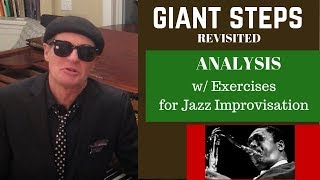 Coltrane's GIANT STEPS: Revisited. Analysis and Exercises for Jazz Improvisation. Resimi