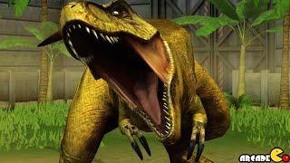 Legendary Tyrannosaurus REX Vs Utahraptor Dinosuars  - Jurassic World The Game