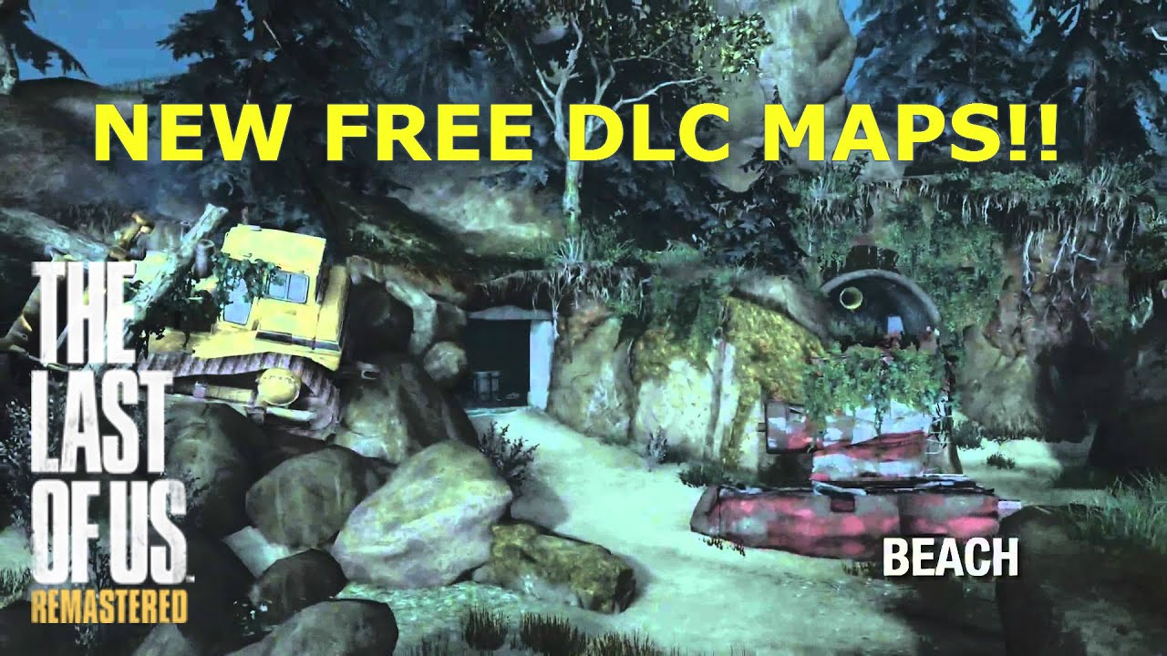 The Last Of Us Remastered New Free DLC Maps Treacherous - The last of us new maps